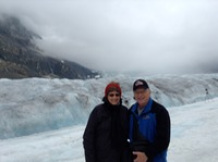 Columbia ice fields glacier